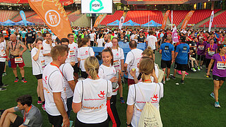 Picture of the runners at the max-morlock-stadion